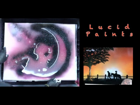 Lucid Paints Spray paint art