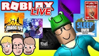 Roblox en direct - France Mad City, Arsenal - Plus d'actualités sur : Robux Giveaway - France Family Friendly Livestream avec Schlamaddy