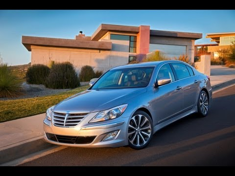 Real World Test Drive Hyundai Genesis Sedan 2012