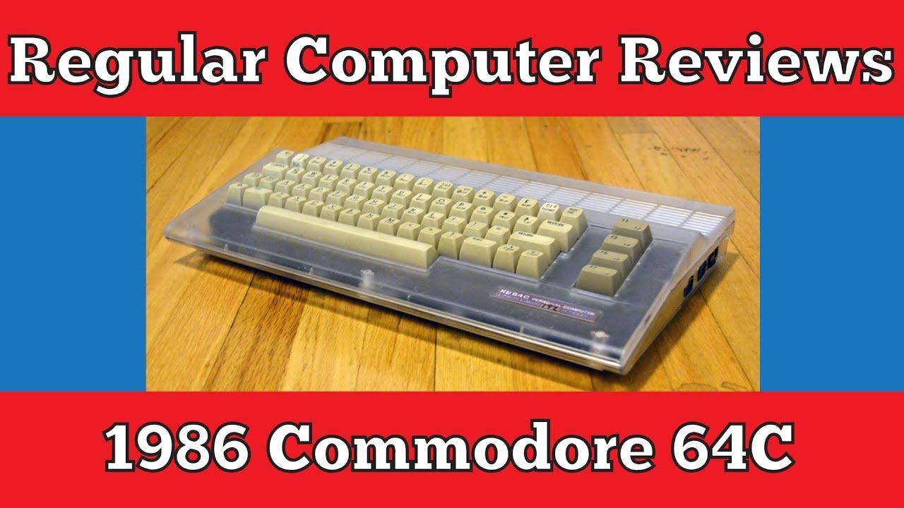 1986 Commodore 64C: Regular Computer Reviews