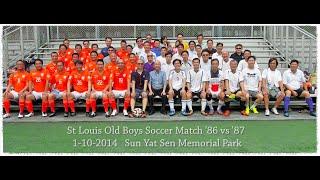 聖類斯舊生足球友誼賽八六對八七