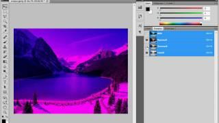 Работа с каналами в Photoshop CS5