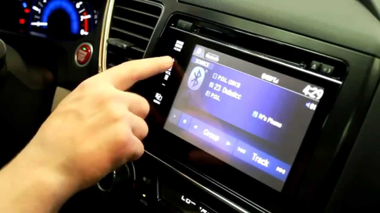 How To Stream Audio With Bluetooth To A 2015 Honda Civic Youtube