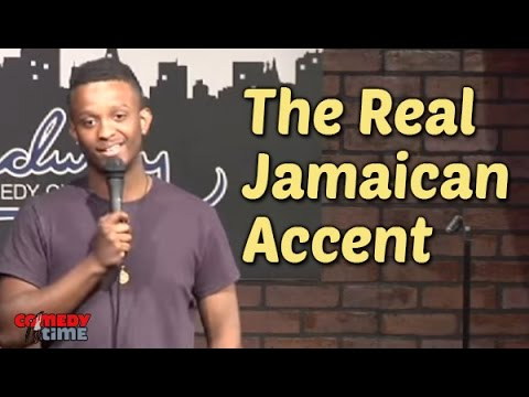 The Real Jamaican Accent (Stand Up Comedy)