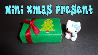 Miniature Present - Diy Lps Crafts, Easy Doll Crafts & Dollhouse Accessories