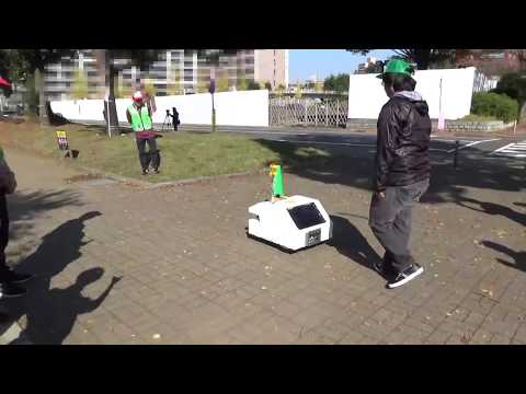 2km automated cruise by a robot of Chiba Institute of Technology