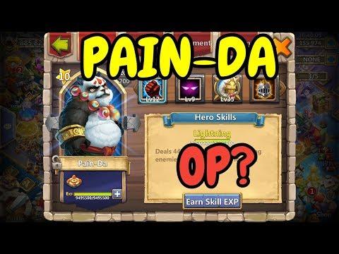 9/9 Unholy Pact Pain-Da In Action L Castle Clash