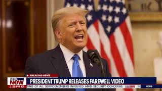 """My True Honor"" President Trump Farewell Speech From White House 