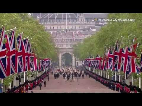 🇬🇧🎩 Royal Family Procession through the Mall, London UK 🎩🇬🇧