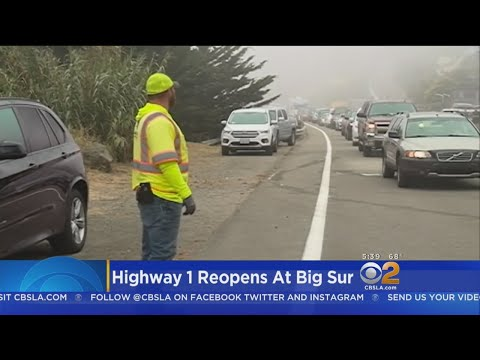Highway 1 Through Big Sur Reopens