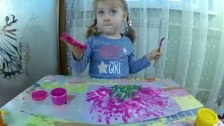 Пальчиковые краски Жужики Рисуем пальчиковыми красками  Видео для детей(Всем привет! На нашем канале новое видео. В этом видео мы с Евой будем творить и рисовать пальчиковыми краск..., 2017-01-22T13:28:24.000Z)