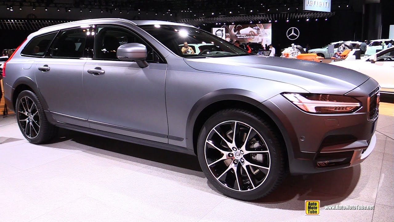 Volvo V Cross Country Exterior And Interior Walkaround - La auto show car debuts