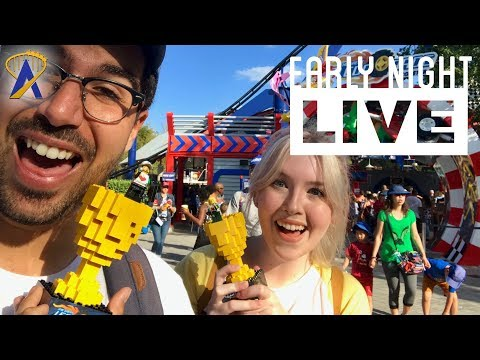 Everything is awesome at Legoland Florida Resort! - Early Night Live