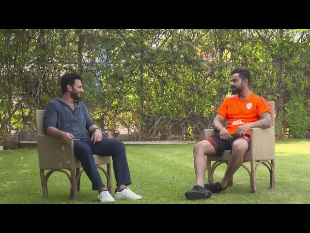 Catching Virat Kohli on a rest day #1