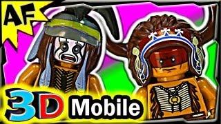 3d Mobile Comanche Camp Lego Lone Ranger Set 79107 Animated Building Review