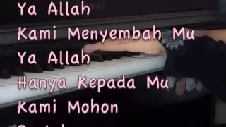 Erti Al-Fatihah (Qari Jr. Version)~~ Surah Al-Fatihah Translation~ Piano Cover.