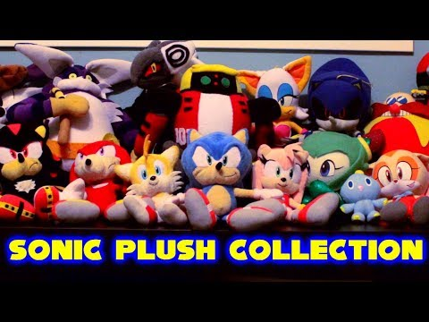 Sonic Plush The Collection Youtube