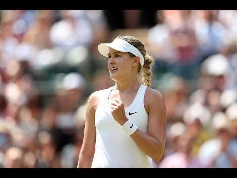 2014 Day 9 Highlights, Eugenie Bouchard vs Angelique Kerber, Quarter-Finals