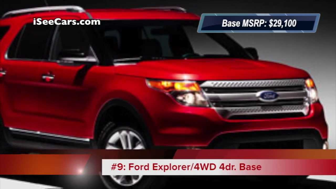 Top 10 Cheapest 7-Seater Cars (2013 Models) SUVs, Minivans and ...