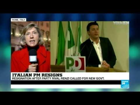 Italy: Prime Minister Letta announces his resignation