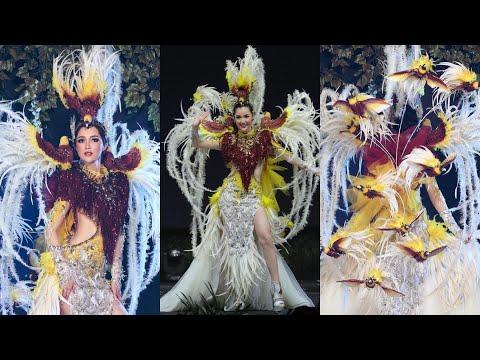 Penampilan Sonia Fergina Miss Universe Indonesia Di National Costume Competition
