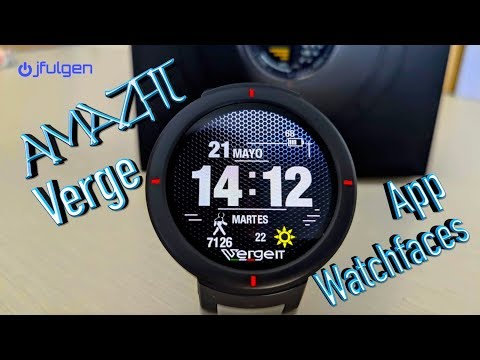 The best application of watchfaces for the AmazFit Verge from YouTube · Duration:  4 minutes 32 seconds