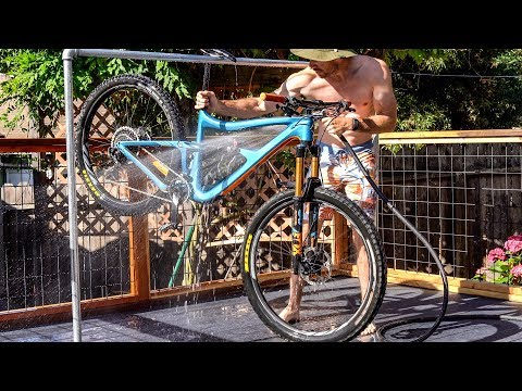 Building the bike wash of my dreams