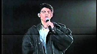 "Keno singing ""A Friend"" in his concert titled Keno...Reminiscing."