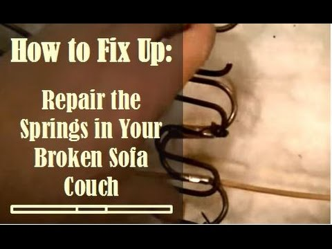 Fix Broken Sofa Springs Learn How to Diagnose and Fix