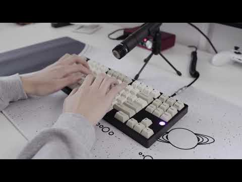 TGR 910 RE Polycarbonate - typing sounds (62g retooled black