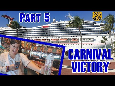 Carnival Victory Cruise Vlog 2018 - Part 5: Comedy, Motown Party, Living In America - ParoDeeJay