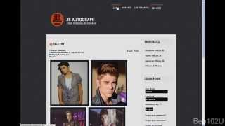 Justin Bieber - Your Autograph (www.jbautograph.ax1.eu)