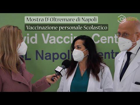 Campagna Vaccinale alla Mostra D'Oltremare di Napoli
