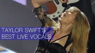 taylor swifts best live vocals
