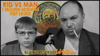 Kid vs Man ... 1 Million Scoville Hot Sauce Extract : Episode 9, Crude Brothers
