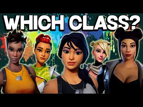 WHICH CLASS IS RIGHT FOR YOU? Fortnite Class Guide 2018 - Save the World PVE