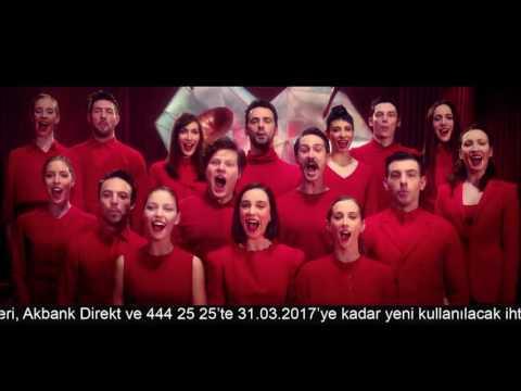 Akbank Kalbinin Sesini Dinle 2 Reklam Bir Arada Ve Tekrarlı Uzun Versiyon   Mart 2017