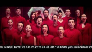 Akbank Kalbinin Sesini Dinle 2 Reklam Bir Arada ve Tekrarlı Uzun Versiyon | Mart 2017