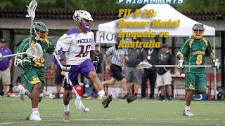 U-19 Game Highlights - BRONZE MEDAL - Iroquois vs. Australia