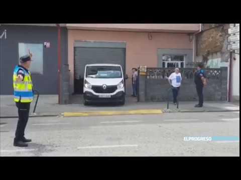 Conmoción en Vilalba tras el asesinato machista en el barrio da Guadalupe