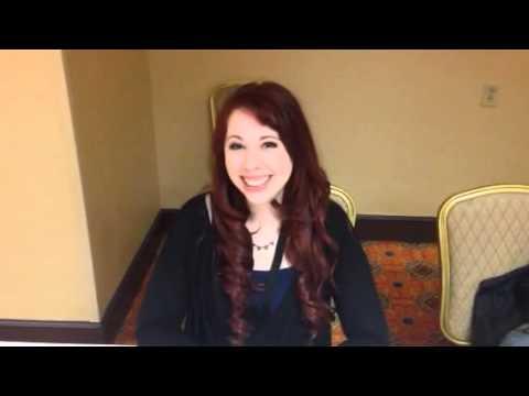 Alexis Tipton at Anime Crossroads