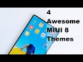 4 Awesome MIUI 8 Themes TechB2