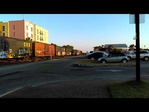 Railroad Activity in Fernandina FL 05/08/2016