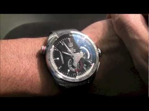 b3c722be1eaf TAG Heuer Grand Carrera Caliber 36 RS Caliper Chronograph Watch Review -  YouTube
