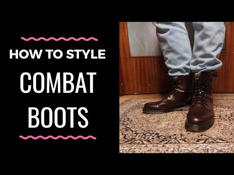 History\How to Style Combat Boots | Men's Fashion
