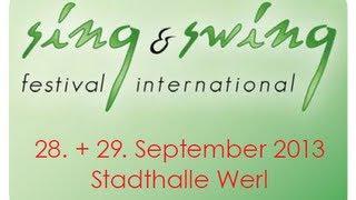 sing & swing festival und NRW Acappella-Contest 2013