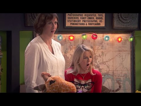 Miranda and Stevie meet a Fireman! | Miranda | BBC Comedy Greats