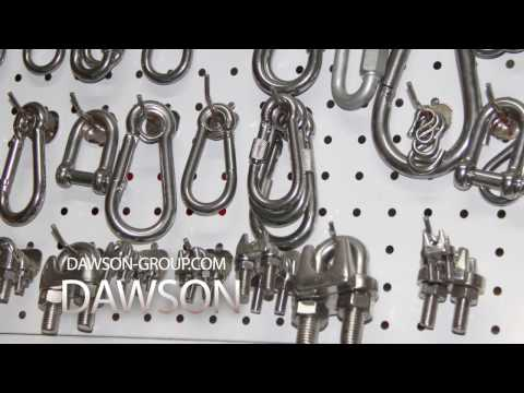 DAWSON STAINLESS STEEL MARINE AND RIGGING HARDWARE (2)