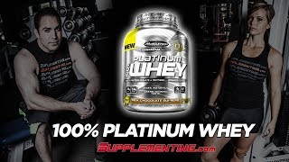 MuscleTech Platinum 100% Whey Reviews - Supplementing.com
