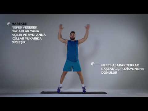 Jumping Jack Egzersizi Nasıl Yapılır? | Barcin.com
